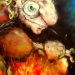 Painting Troll