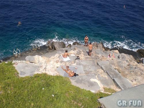 Argosaronikos, Ydra, Spilia Beach / Αργοσαρωνικός  Ύδρα, Παραλία Σπηλιά