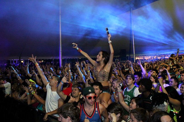 Electric Zoo 2011 Crowd