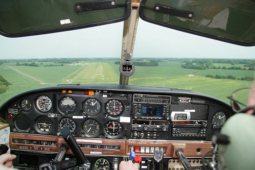 Landing G-CCIJ on runway 09R at Andrewsfield | by nickchalloner