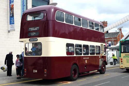Coventry Transport 334 - Daimler CVG6 - 1963 - 8400cc - 334CRW