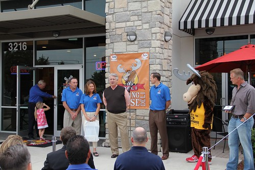 Smiling Moose Deli Grand Opening in Carrollton, Texas
