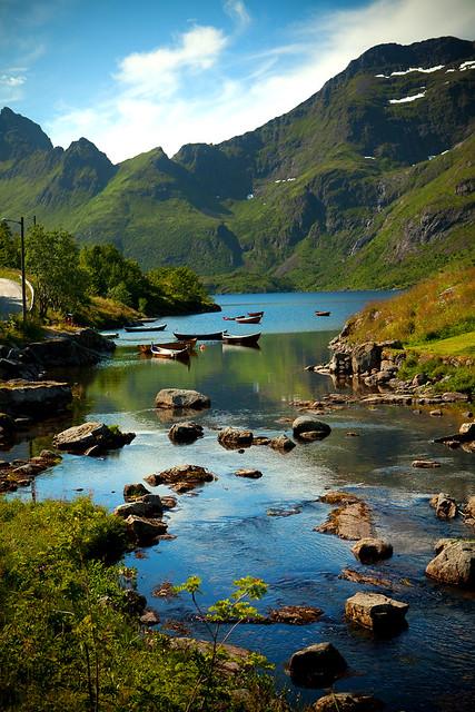 River in Å