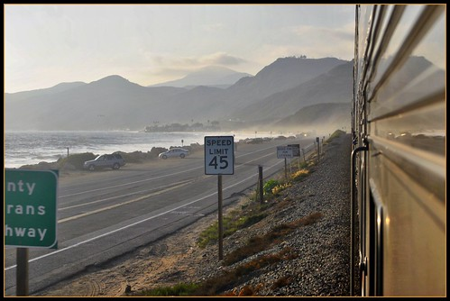 california coast july amtrak pacificsurfliner pacificcoasthighway statehighway1 2011 vietnamveteransmemorialhighway