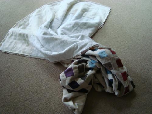 Pillowcase binding tutorial 3