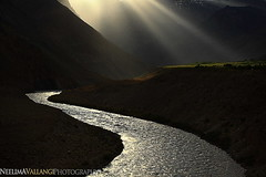 Sky Light in Spiti, one evening! by Neelima V