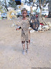 Young boy dressed for Shembe religious ceremony