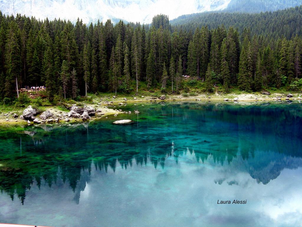 озеро Carezza
