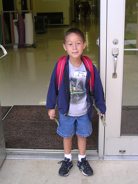 First Day of Kindergarten, 2005
