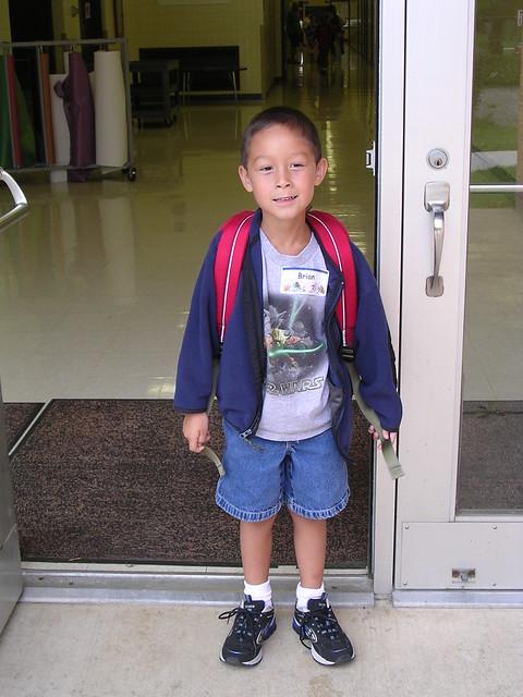 First Day of Kindergarten, 2005