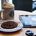 iPad in Starbucks by Sergey Galyonkin