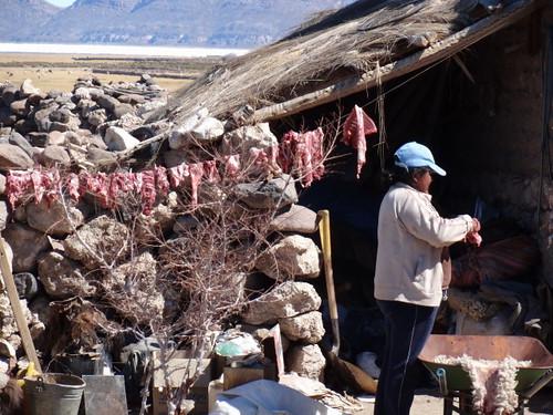 viande de lama séchée
