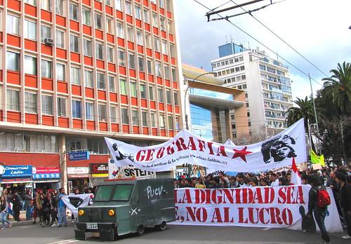 Marcha por la Educación en Valparaíso