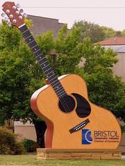Oversized Guitar - Bristol