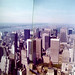 View NW from the Empire State Building, July 1976