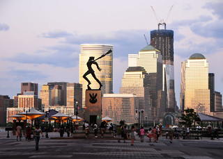 Image of  Katyn Memorial. usa newyork buildings jerseycity downtown skyscrapers manhattan hudsonriver bigapple exchangeplace andrzejpitynski katynmassacre katyńmemorial