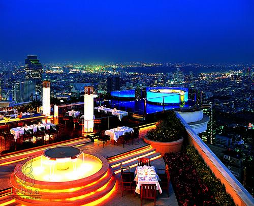 Sirocco Sky bar - Bangkok