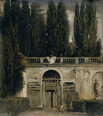 The Medici Gardens in Rome, c.1630, by Velázquez