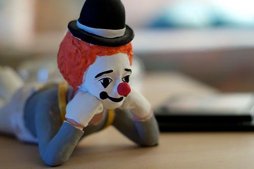 Clown Thinker - Free Photos fotoq