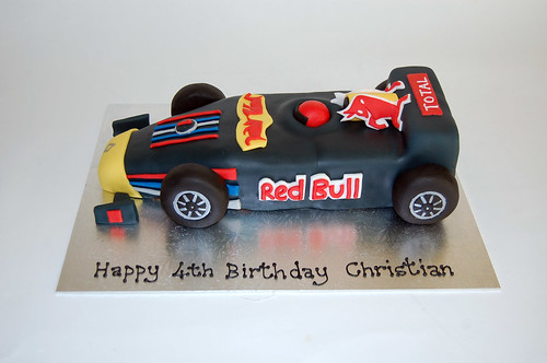 Pin normal race car 9 birthday cake idea cake on pinterest for F1 car cake template