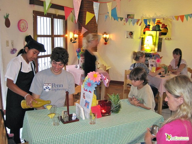 kids restaurant - antigua guatemala - only restaurant run by kids - charity 2