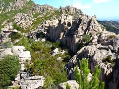Castellu Muratu : la vaste plate-forme à l'intérieur des enceintes