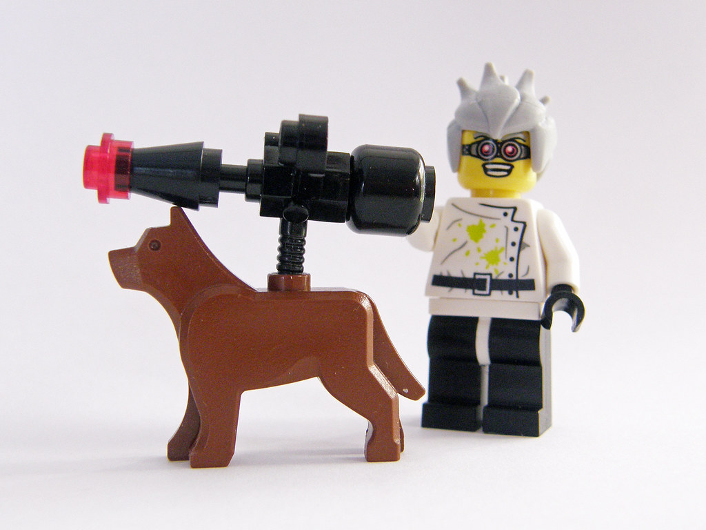 Doctor Doberman And His K9 Death-Ray
