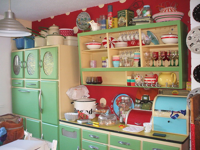 50s Kitchens Gorgeous Of 1930s Cottage Style Kitchens Photo