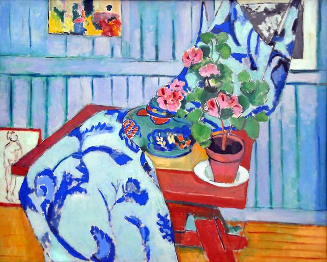 Henri Matisse - Stilleben mit Geranien, 1910 at Pinakothek der Moderne Munich Germany