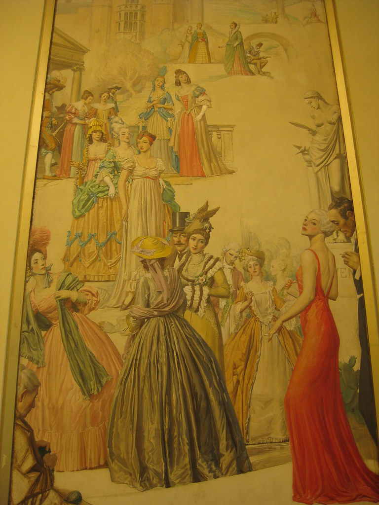Latest fashion in france in france black women fashion for Mural hall myer