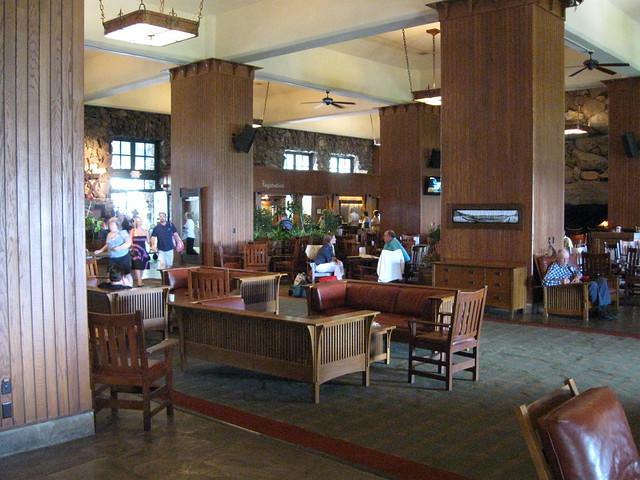 Grove Park Inn lobby   Flickr - Photo Sharing!