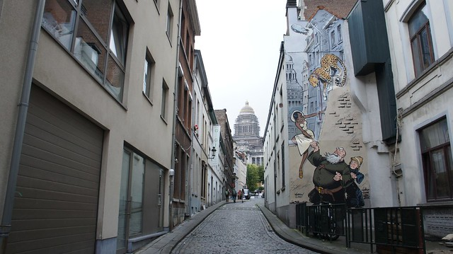 Bruxelles - Murs dessinés - 06