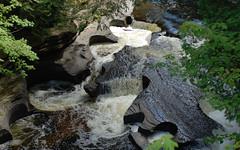 Presque Isle River from the bridge, 2011
