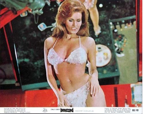Raquel Welch (1968) in ''Bedazzled'' by Jack's Movie Mania