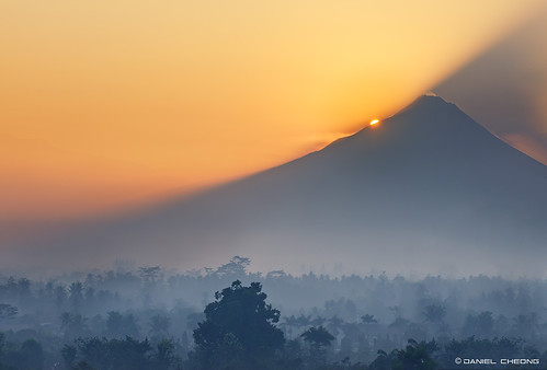 Mount Merapi Sunrise