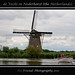 windmill on the vecht (canal)