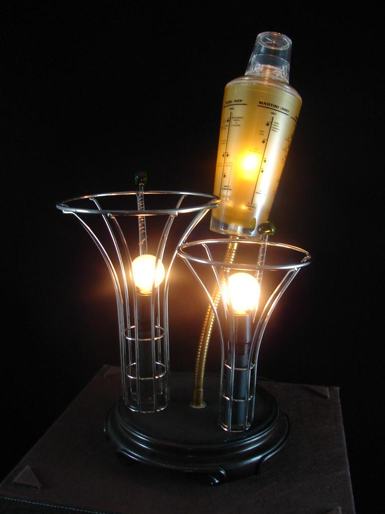 Vintage Cocktail Shaker Light