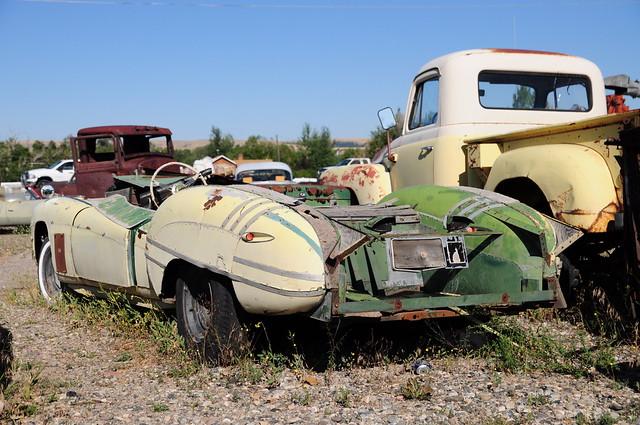 Junkyard Classic Car Washington