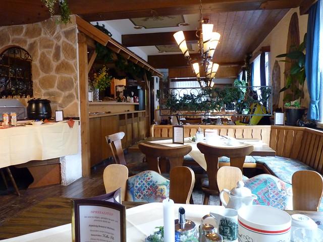 Bavarian Hotel Dining Room