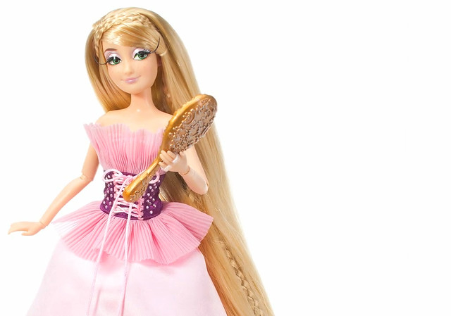 Как сделать куклу рапунцель