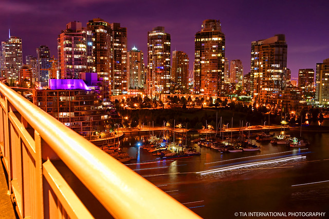 Vancouver in Violet