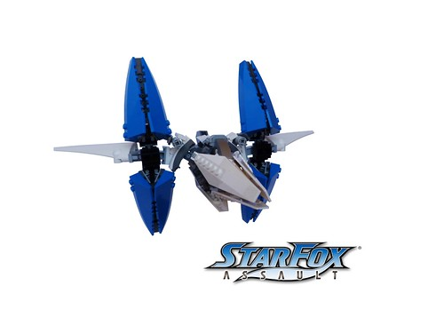 Starfox Assault arwing