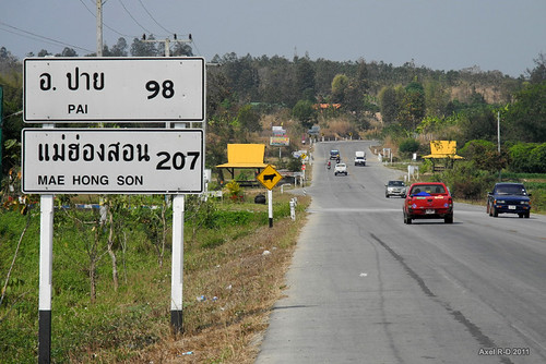 The road to Pai