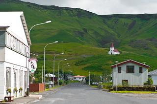 Vik streetscape