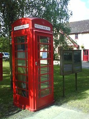 Little Bentley Book Swap Telephone Box