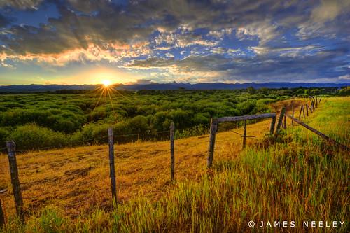 sunrise landscape idaho tetons hdr driggs tetonvalley 5xp jamesneeley