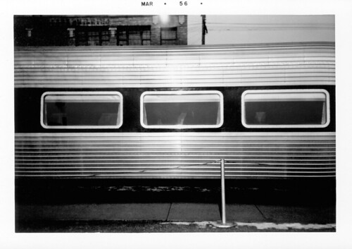 Old Passenger Train Side View Side View of Passenger