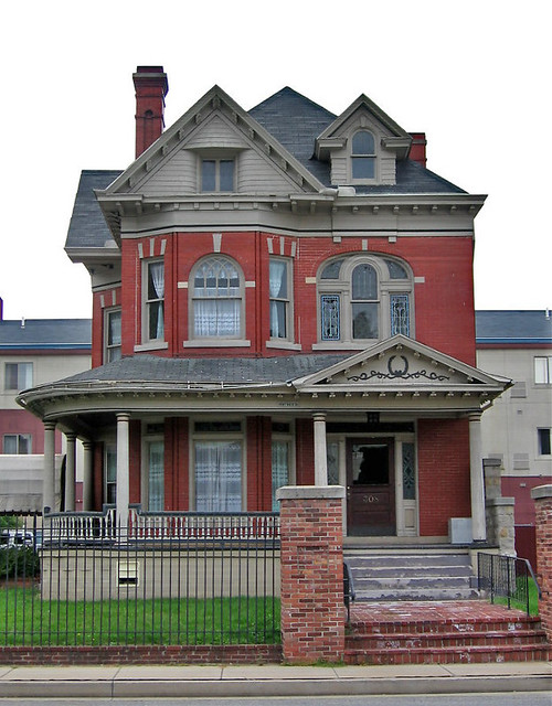 Queen Anne Style House Johnstown Pennsylvania A Photo