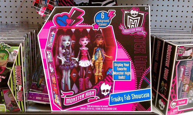 Monster High Display Case
