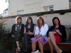 Edinburgh - Vera, Emma, Luisa and me